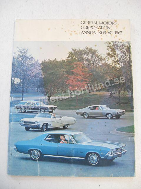 1967 General Motors Corporation Annual