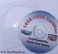 1959-1965 Cadillac Master Parts List CD